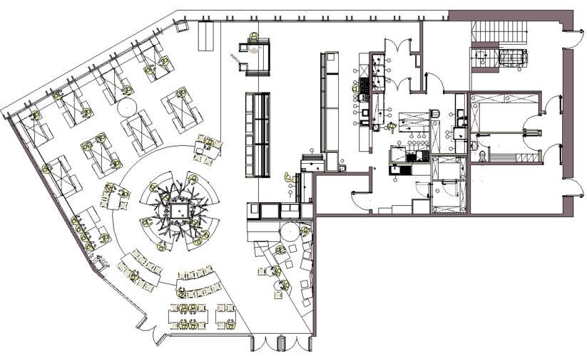 planta distribucio DIN'S Campus